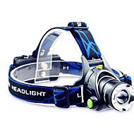 TD286 LED Lommelygter Pandelamper LED 800 Lumen Tilstand Cree T6 2 x 18650 Batterier Justerbart Fokus Genopladelig Vandtæt for