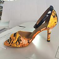 Femei personalizabile lui din piele de Sus Modern Dance pantofi sandale cu Buckie
