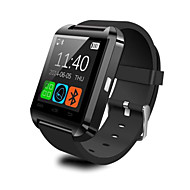 U8 Smartur Bluetooth Svar / Kamera Besked Mediekontrol / Anti-Tabt Til Android / iOS Smarttelefon