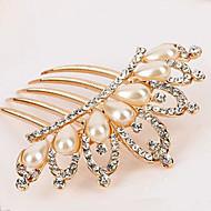 etelä-korea korkealaatuisesta koristeet kammat hiukset lukko timantti helmi kierre kruunu