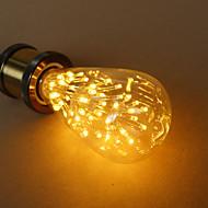E27 3W st64 csillagos Edison villanykörte dekoratív fényforrás