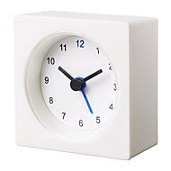 基本的な経済的な白vackis目覚まし時計