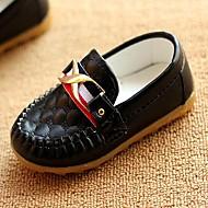 Jongens / Meisjes Sneakers Lente / Zomer / Herfst / Winter Comfortabel Imitatieleer Informeel Platte hak GeruitZwart / Bruin / Wit /