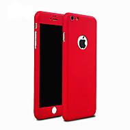 Kompatibilitás iPhone 8 iPhone 8 Plus iPhone 5 tok tokok Ütésálló Hátlap Case Páncél Kemény PC mert iPhone 8 Plus iPhone 8 iPhone 7 Plus