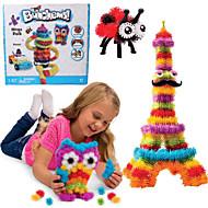 Uusi bunchems hyvä paketti uudisrakennus lelu 370 kappaletta DIY lasten leikkiä 36 lisätarvikesarja lapsille paras lahja