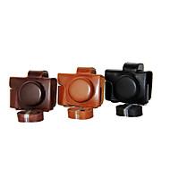 כיסוי תיק תיק עור מצלמה dengpin® pu עבור mark2 em10 דואר m10 Mark II אולימפוס (עדשת EZ 14-42mm (צבעים שונים)