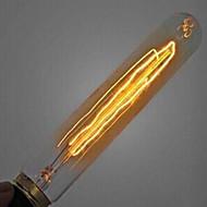 T185 220-240V 60W nosztalgikus hangulatot fuvola cső Edison retro dekoratív izzó
