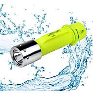 1/1 Lanternas LED LED 500 Lumens 1 Modo - Baterias não incluídas Impermeável para Campismo / Escursão / Espeleologismo Uso Diário