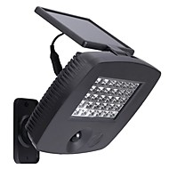 30leds מנורת קיר אבטחת אור חיישן תנועת PIR מופעלת שמש בחוץ בהירה במיוחד לגינות