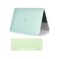 """novo 2 em 1 fosco plástico rígido caso de corpo inteiro com tampa do teclado para MacBook Air 11 """"/ 13"""" (cores sortidas)"""