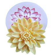 לתבנית אפייה משומנת פרח לעוגה עבור קוקי עבור פאי סיליקוןריצה ידידותי לסביבה איכות גבוהה עשה-זאת-בעצמך