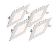 12W Lumini Panel 60pcs SMD 2835 1000-1100lm lm Alb Cald / Alb Rece / Alb Natural Reglabil / Decorativ AC 85-265 V 1 bc