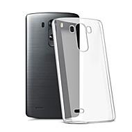 のために LGケース クリア ケース バックカバー ケース ソリッドカラー ソフト TPU LG LG K10 / LG K7 / LG G5 / LG G4 / LG G3