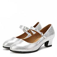 Dansesko(Sort / Rød / Sølv / Guld) -Kan ikke tilpasses-Cubanske hæle-Damer-Latin