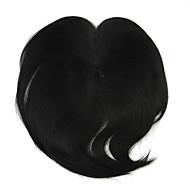perruque noire remplacement de fil 10cm haute température bangs couleur 2