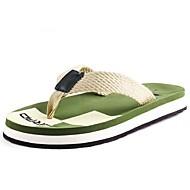 Αντρικό Παντόφλες & flip-flops Ανατομικό Καλοκαίρι Συνθετικό Causal Επίπεδο Τακούνι Μαύρο Καφέ Πράσινο