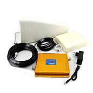 GSM / 3g w-cd mA téléphone mobile bi-bande amplificateur de signal, le signal booster + log antenne périodique + antenne plane