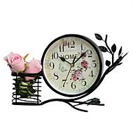 ヨーロッパスタイルのヴィンテージの鉄の机の目覚まし時計