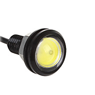 10pcs 23mm 9W עין הנשר צהוב כחול אדום לבן נורות LED רכב DRL אור בשעות היום