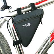 B-SOUL Geantă MotorGenți Cadru Bicicletă Fermoar Impermeabil Rezistent la umezeală Rezistent la șoc Purtabil Geantă BiciletăPoliester PVC