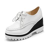Ženske cipele-Modne tenisice-Aktivnosti u prirodi / Ležerne prilike / Atletika-Umjetna koža-Puna potpetica-Pune pete-Crna / Ružičasta /