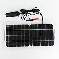 zdm® 5,5 w 12V USB výstup monokrystalický křemík solární panel (dc12-18v)