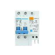 stroomonderbreker huishouden bescherming van het milieu energiebesparing elektrische lekkage bescherming schakelaar DZ47