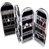 nieuwe collectie 2016 acryl sieraden opbergdoos van hoge kwaliteit box organizer plastic doos sieraden organisator scherm houder