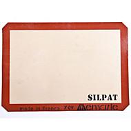silikone bagning mat halv størrelse 42 * 29.5cm silpat non-stick silikone bageplade