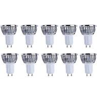 5w gu10 led spotlight 4 cob 500 lm теплый белый / холодный белый dimmable ac 220-240 / ac 110-130 v 10 шт.