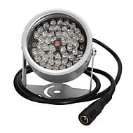 48 levou iluminador de luz CCTV ir de visão noturna infravermelha para câmera de vigilância