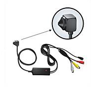 480tvl biztonsági beltéri CCTV kamera mini kamera lyukra kamera rejtett kamera