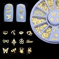 Nail Jewelry-Lovely / Punk-Sormi-Metalli-6cm-1pcs