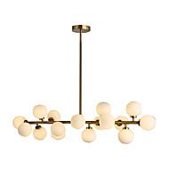 Luzes Pingente ,  Contemprâneo Latão Característica for LED Metal Sala de Estar Quarto Sala de Jantar