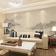 Art Deco 3D Papel de Parede Para Casa Contemporâneo Revestimento de paredes , Tela Material adesivo necessário Mural , Cobertura para