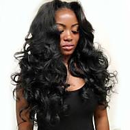 100% Brasilian elin aalto neitseellinen hiuksista silkki emäksen 13x4 3d lace edestä sulkeminen luonnon mustat hiukset