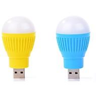 2 stuks mini draagbare usb led lamp computer randapparatuur gadget usb licht ramdon kleur