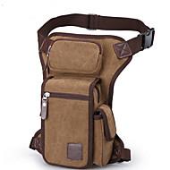 Damen Taschen Winter Leinwand Hüfttasche mit für Normal Braun