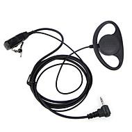 d typen headset PTT 1 pin fbi ørekrog ørestykket til Motorola bærbar skinke radio headset TLKR t3 t4 t60 t80 mr350r walkie talkie