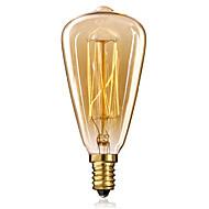 E14 25W st48 sárga lámpa Edison kis csavaros kupak retro csillár dekoratív izzók