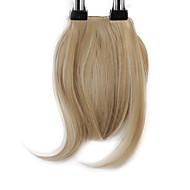 neitsi 1pcs 8 « » 25g / pc clipser sur courte frange de la nique cheveux cheveux synthétiques droite M24 / 613 #