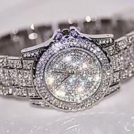 Dámské Hodinky k šatům Módní hodinky Náramkové hodinky Unikátní Creative hodinky Maketa Diamant Hodiny Vykládané hodinky čínština Křemenný