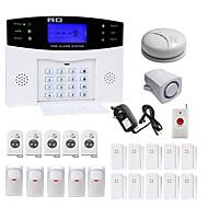 Danmini  LCD Wirless GSM/PSTN Home House Office Security Burglar Intruder Alarm System Smoke Induction