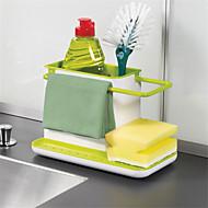 1pcs uimitor 3 în 1 mănuși de depozitare resturi rack dishclout depozit rack bucătărie standuri ustensile