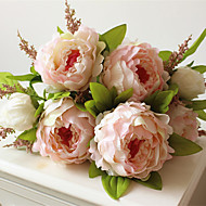 7 heads/bunch New.Silk / Simulation / Artificial flower Peony flower bouquet