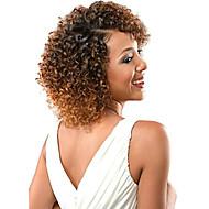 curly punokset Virkkaus Kihara Jerry curl Kanekalon Harmaa Mansikkablondi Medium Auburn Black / Medium Auburn Keskiruskea Hiuspidennykset