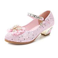 Para Meninas Sapatos De Casamento Conforto Inovador Sapatos para Daminhas de Honra Gliter Verão Outono Social Festas & Noite Caminhada
