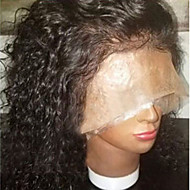 130% Density Top Quality Curly Lace Front Brazilian Human Hair Wigs with Baby Hair Natural Hairline 100% Brazilian Human Hair for African Americans