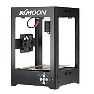 Kkmoon k2 1000mw máquina de gravura a laser em miniatura de alta velocidade impressão gravadora de carvão automático diy carving operação