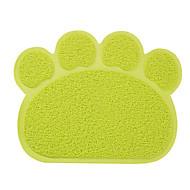 ネコ 犬 餌入れ/水入れ ペット用 ボウル&摂食 防水 調整可能/引き込み式 携帯用 両面 折り畳み式 耐久 ランダムカラー